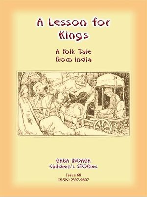 cover image of A LESSON FOR KINGS--A Hindu Tale from India